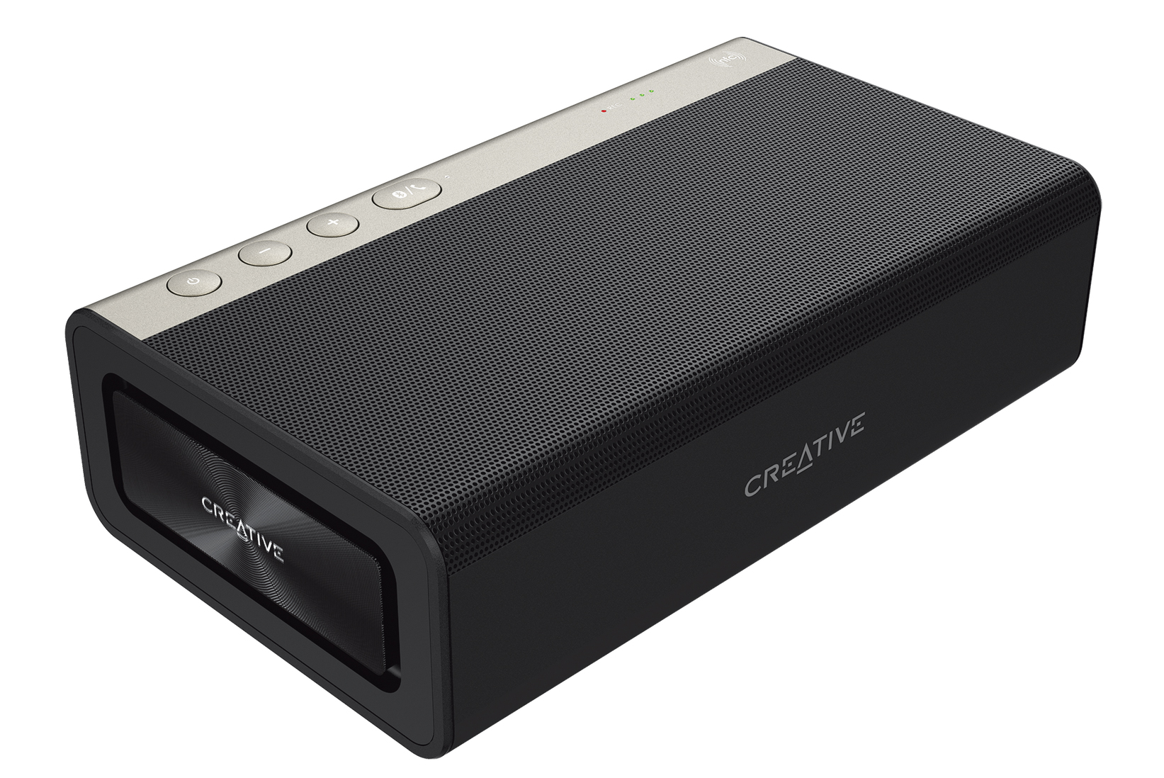Creative Sound Blaster Roar 2 Portable Bluetooth Speaker Laying Down