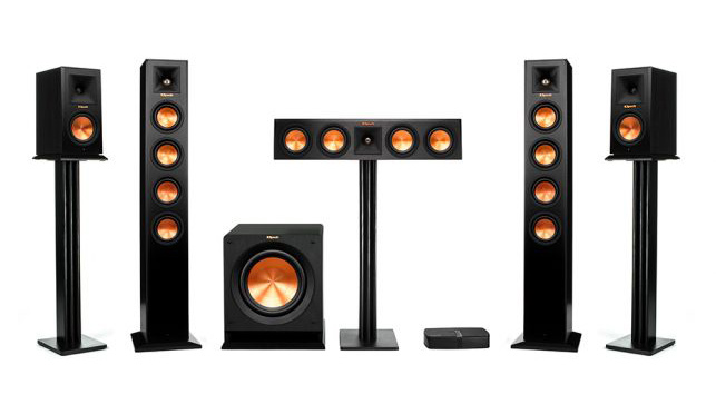 Klipsch Reference Premiere HD Wireless 5.1 towers and bookshelf speakers