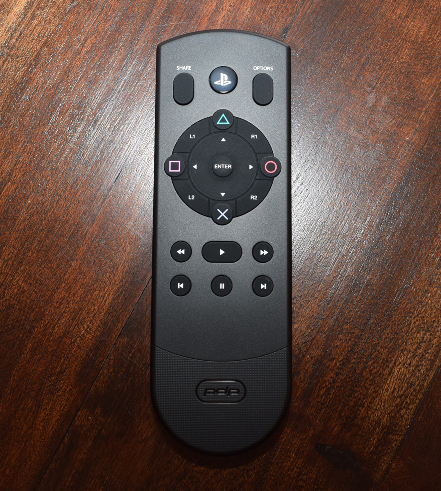 PDP Media Remote for PS4 Review - Pro - Front Buttons
