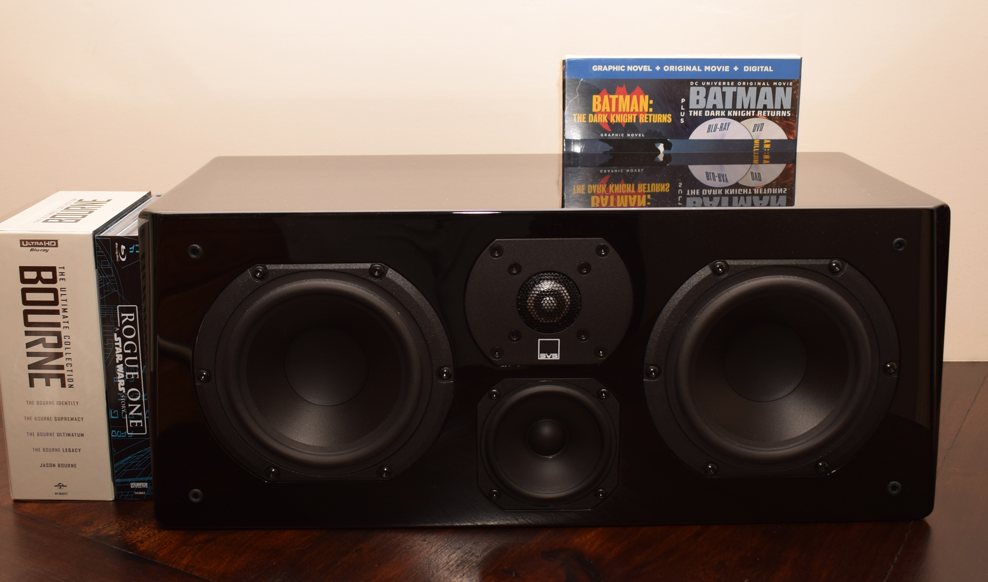 SVS Prime Center Speaker Review - Without Screen - Rogue One, Bourne, Dark Knight Returns Collection