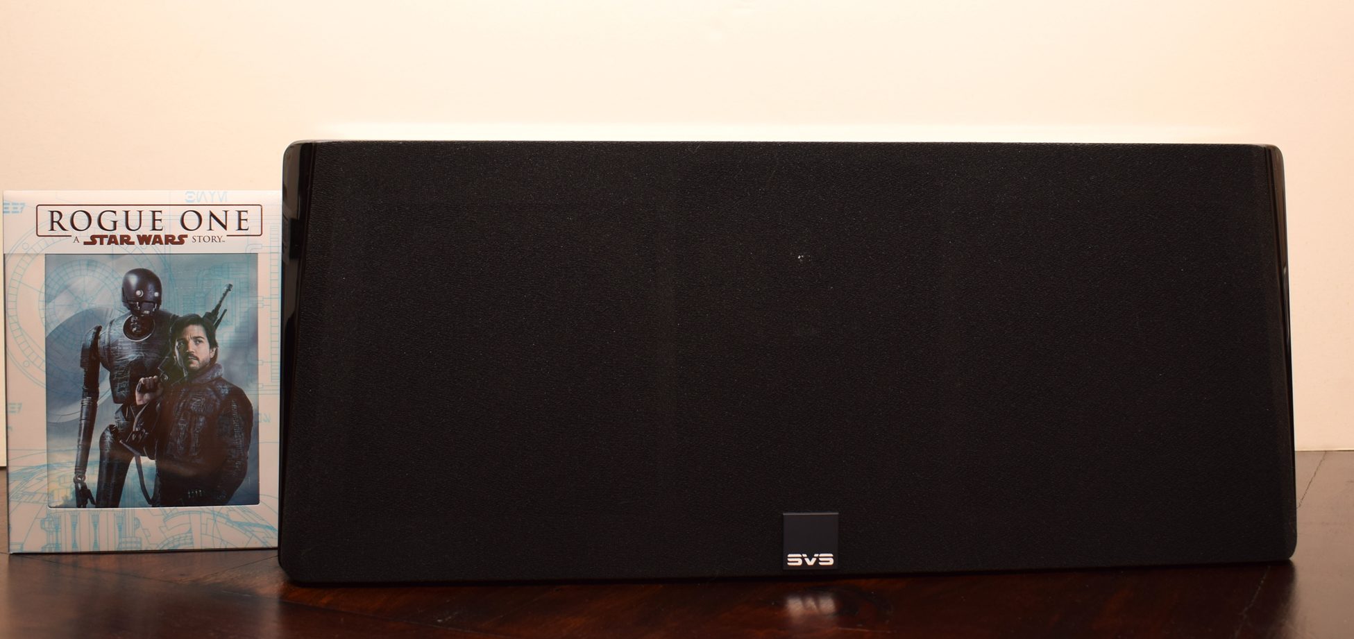 SVS Prime Center Speaker Review with Screen Star Wars Rogue One