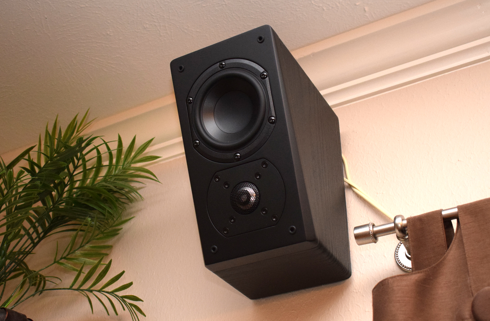 SVS Prime Elevation Speaker Review Installed and Wired without Screen