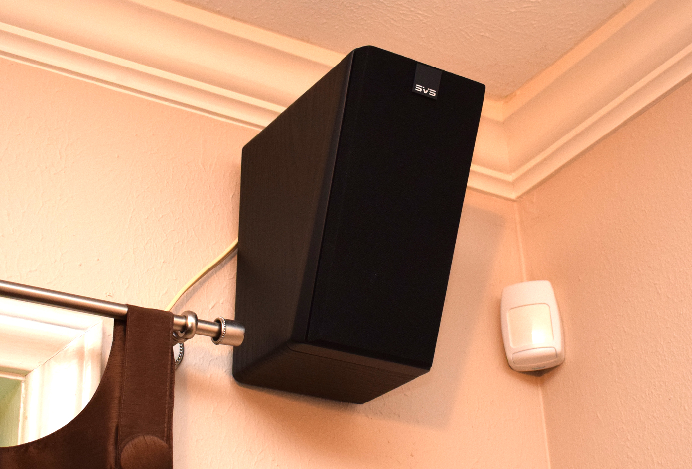 SVS Prime Elevation Speaker Review Installed with Wire