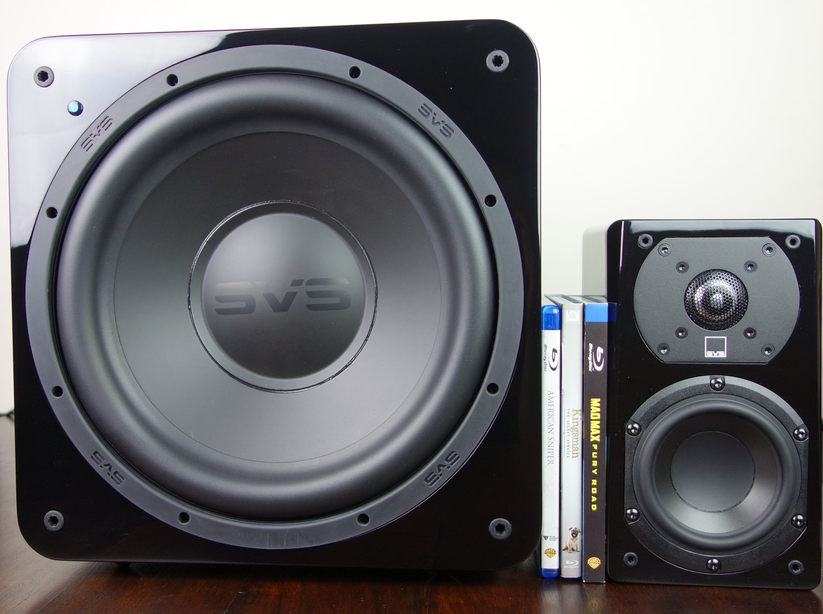 SVS Prime Satellite 5.1 Surround System Piano Gloss Black