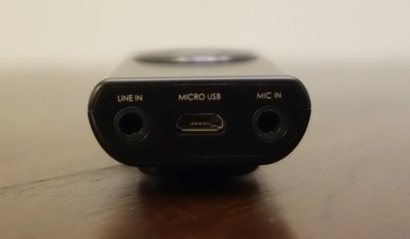 Creative iRoar Mic bottom ports